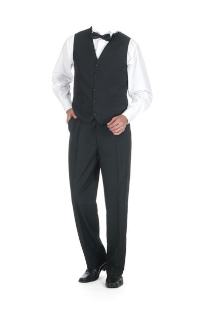 GK-101 Garson Kıyafeti Yelekli